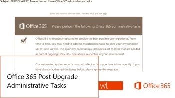 Office365_PostUpgradeAdministrativeTasks_feat
