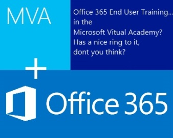 Office 365 end user courses in Microsoft Virtual Academy