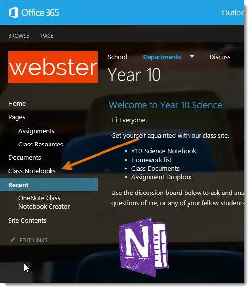 OneNote-Classroom-Notebook-Creator-Library-on-menu