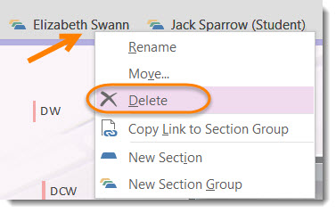 OneNote Class Notebooks: Removing a student – Darrell