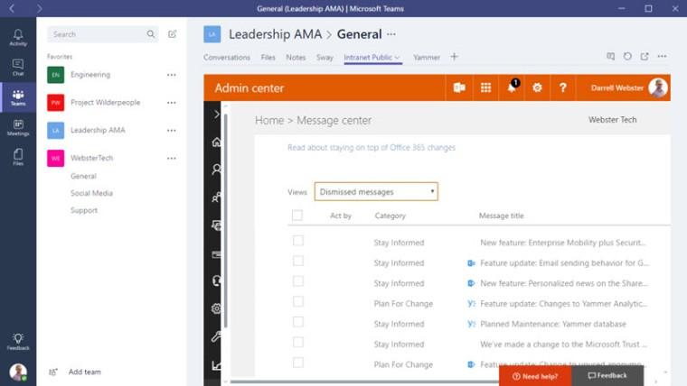 O365-Message-Center-in-Microsoft-Teams