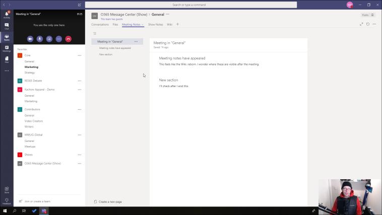 Meeting Notes fullscreen
