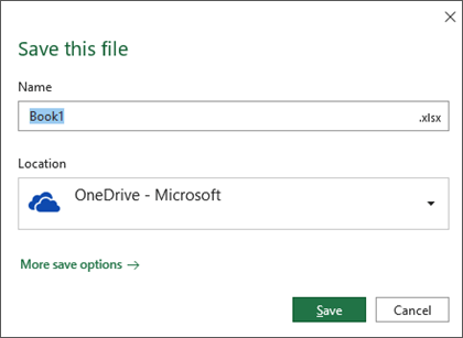 There's a new Office 'Save' dialog box coming
